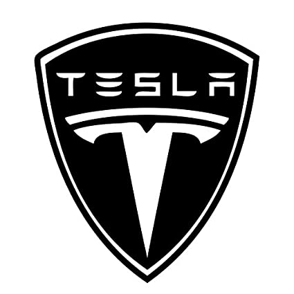 Amazon Com 2 Foot Tesla Motors Vinyl Decal Repositionable Sticker