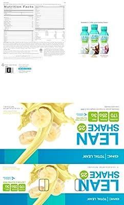 GNC Total Lean Lean Shake 25 - Banana Cream - Limited Edition Flavor