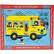 Schylling Wood Puzzle School Bus
