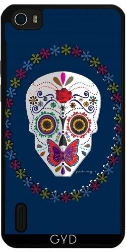 Funda de silicona para Huawei Honor 6 - Cráneo Del Azúcar by AmadeuxWay