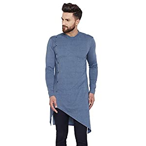 Chill Winston Men's Synthetic Kurta