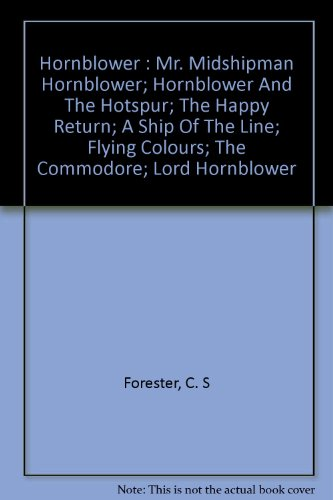 a report on the book lord hornblower by cs forester Buy lord hornblower ninth impression by c s forester (isbn: ) from amazon's book store everyday low prices and free delivery on eligible orders.