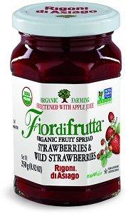 Rigoni Di Asiago Fiordifrutta Organic Fruit Spread, Strawberry, 8.82 Ounce