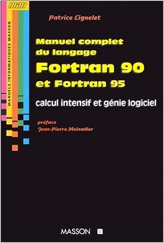 GRATUIT TÉLÉCHARGER 90 LANGAGE FORTRAN