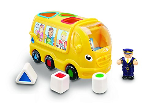 Wow Sidney School Bus (5 Piece - Sorting Bus Shape