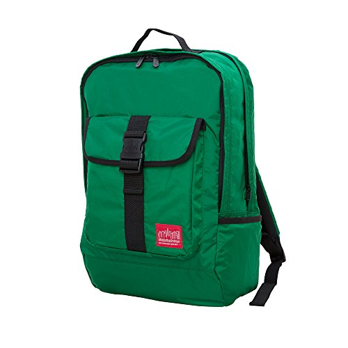 manhattan-portage-cordura-lite-stuyvesant-backpack-green-one-size