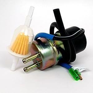amazon.com: fuel pump and filter fits kawasaki mule 2500 2510 3000 3010 49040-1055: automotive 3010 mule fuel filter a fuel filter on kawasaki mule #11