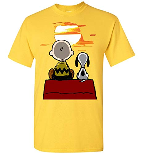Best Friend Snoopy and Brown T-Shirt]()