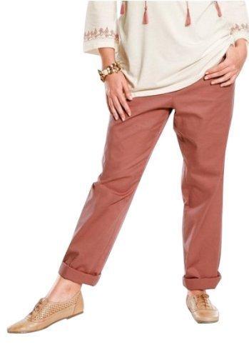 De moda Pantalones chinos aus dem Página de inicio Heine en Color Rost óxido