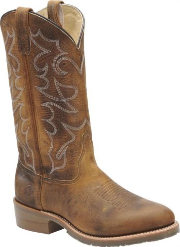 Boot Boot Double Western H - Double H 12 Inch DH1552 Mens Gel ICE Work Western Boot