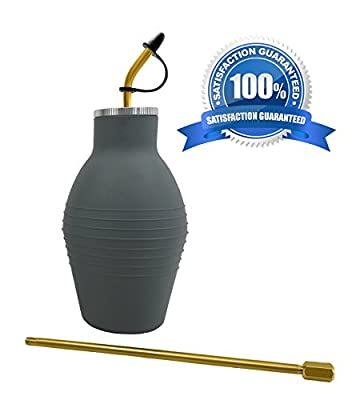 Dr. Killigan's Insect Buster | Bulb Duster, Insecticide Applicator, Dispenser for Diatomaceous Earth and Other Powdered Insecticides and Pesticides | Non-Toxic and Natural | by