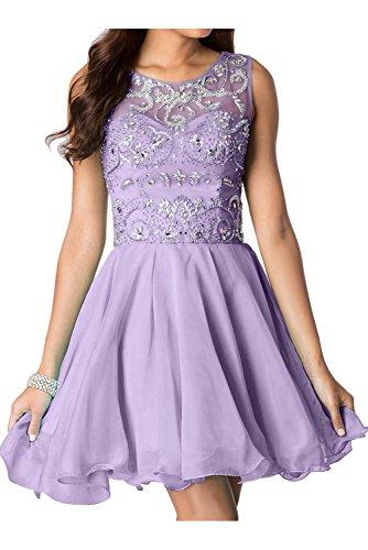 para Vestido Topkleider mujer trapecio Lilac T4na1F