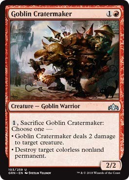 Magic: the Gathering - Goblin Cratermaker (103/259) - Guilds of Ravnica