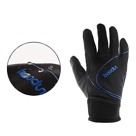 ARTOP Gant V/élo Tactile Thermique Chauffant Impermeable Gants VTT Cyclisme Cycliste Automne Hiver pour Hommes