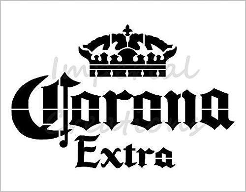 CORONA EXTRA Beer Alcohol Crown Logo 8.5
