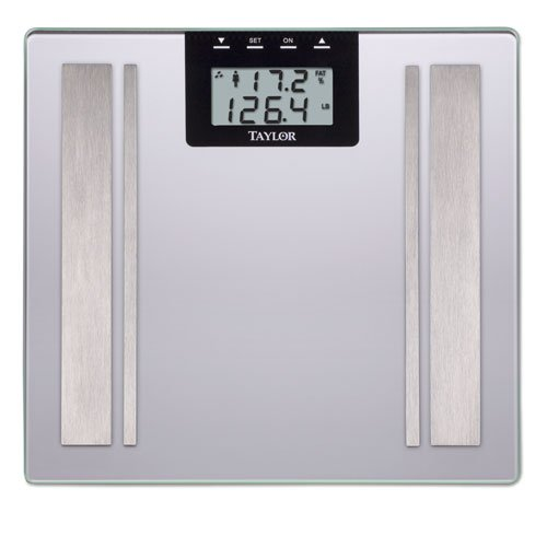 Salter Body Fat - Taylor / Salter 5736F Body Fat Bathroom Scale