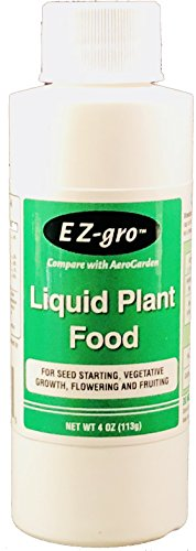 r Aerogarden | Liquid Fertilizer with Hydroponic Nutrients | Liquid Fertilizer for Plants in Aerogarden Sponges | Aerogarden Liquid Food Compatible | Hydroponic Fertilizer 4 oz ()