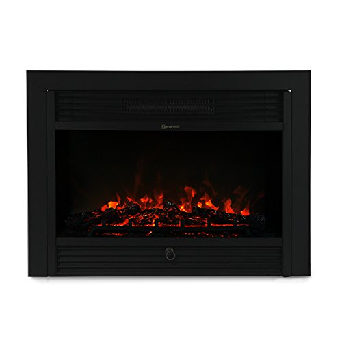 XtremepowerUS 5200BTU Embedded Electric Fireplace