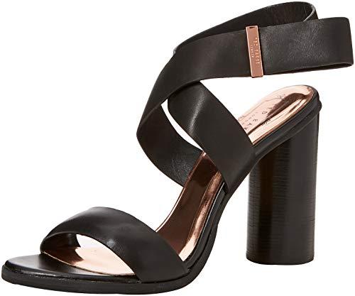 Femme Baker Noir Meila Blk Ted black Sandales Bout Ouvert w7azXqz