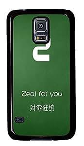 Samsung S5 shop cases Love Letter Z PC Black Custom Samsung Galaxy S5 Case Cover
