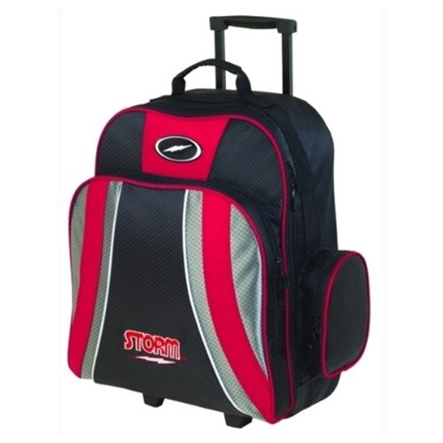 Storm Products Rascal 1 Ball Roller Bowling Bag, Red/Black/Silver by Storm