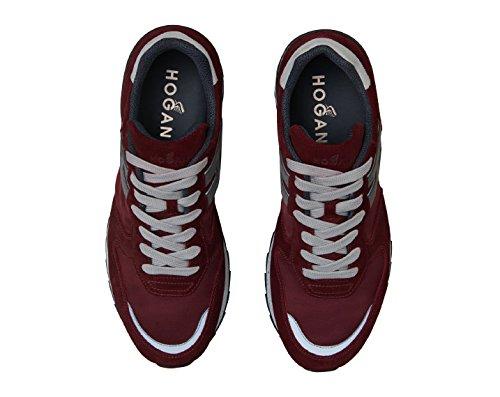 Suede Sneakers Burgundy Hogan HXM2610R676HJC780M Men's q8wCTTP
