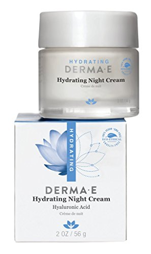 derma e Hydrating Night Crme with Hyaluronic Acid