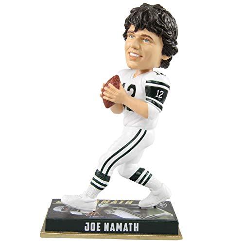 FOCO Joe Namath Bobblehead New York Jets Greats