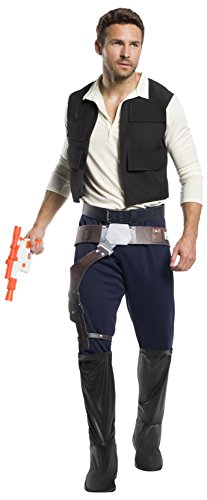 Rubie's Men's Standard Star Wars Classic Han Solo, As As Shown, Extra-Large -