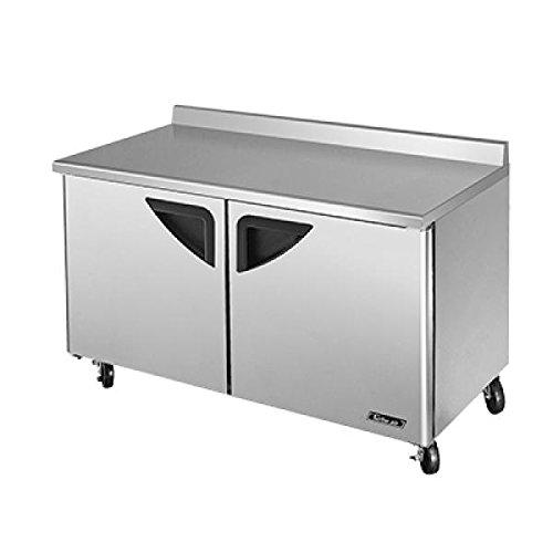Turbo Air TWF-60SD 2 Door Worktop Freezer - 60''