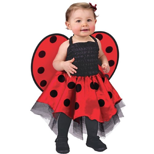 Size 24 Costumes Halloween (Ladybug Costume Baby One Size Fits Up To 24)