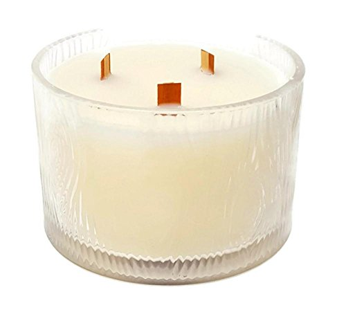 PartyLite Woodwick scented jar candle (Aspen 3 Wick)