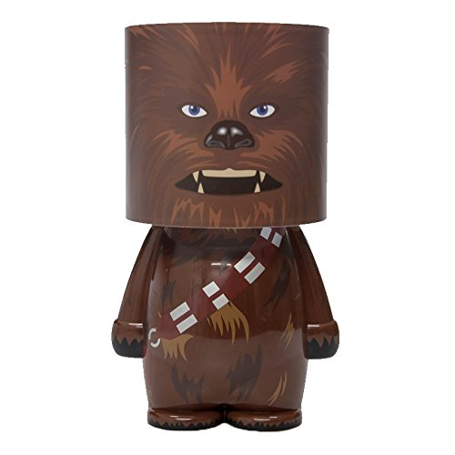 Star Wars Chewbacca Tischlampe Stimmungs Licht Look ALite Figur 25cm Kunststoff weiß