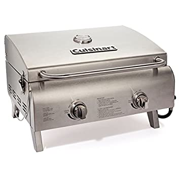 Cuisinart CGG 306 Chefu0027s Style Stainless Tabletop Grill