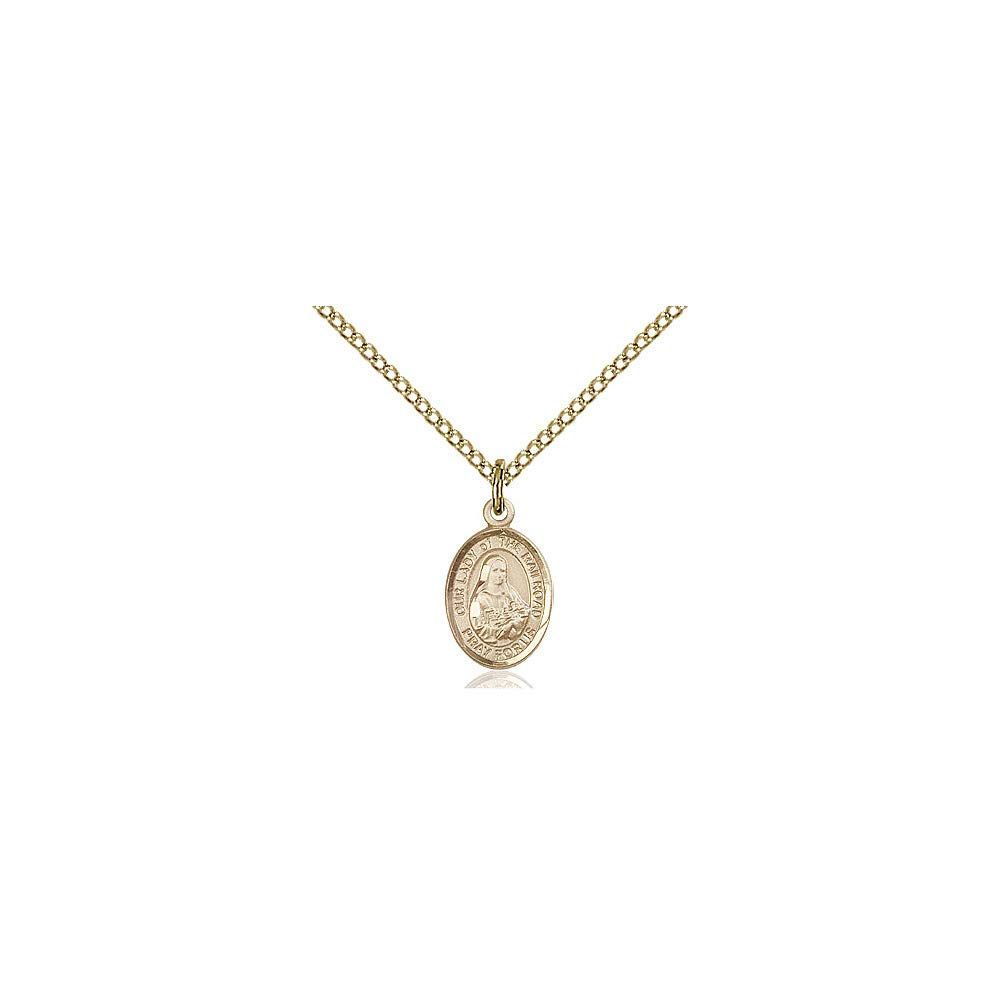 DiamondJewelryNY 14kt Gold Filled O//L of The Railroad Pendant