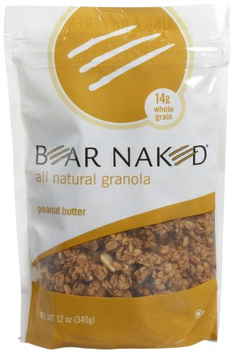 UPC 856416001007, Bear Naked All Natural Peanut Butter Granola, 12-Ounce Bags (Pack of 6)