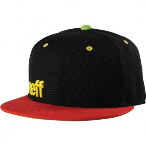 NEFF Daily Snapback Hats – Custom Fitted Hats & Baseball Caps – Adjustable Flat Bill Hats for Men & (Flat Brim Fitted Wool Cap)