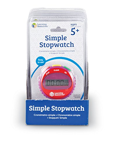 Learning Resources LER0809 Simple Stopwatch product image
