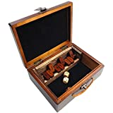 Best Chess Set Sarah Wood Shut the Box Board Game in Case