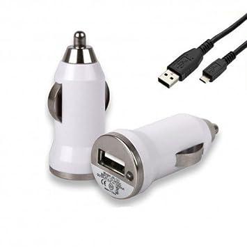 Cargador de mechero de coche y Cable Usb para Motorola Moto ...