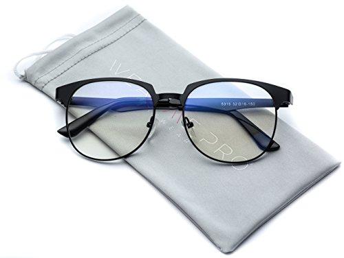 WearMe Pro - Geometric Rectangular Modern Prescription Frame Clear Lens Glasses