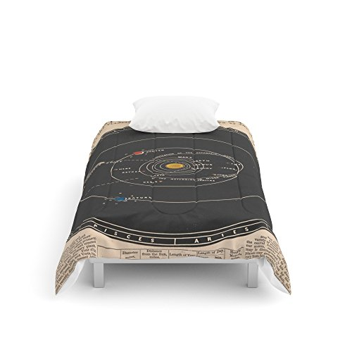 Society6 Solar System Comforters Twin XL: 68'' x 92'' by Society6