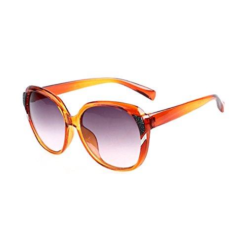PPSTAR SG700009C3 New Style PC Lens Fashion Sunglasses,Plastic Frames (South Seas Hut)