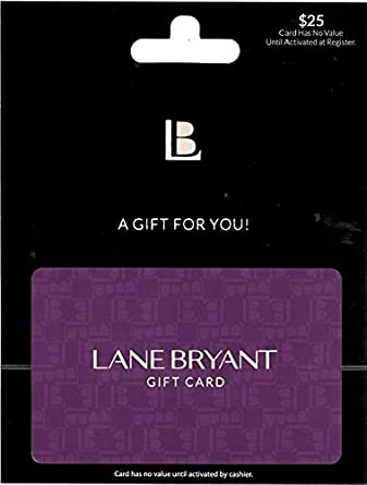Amazon.com: Lane Bryant Gift Card $25: Gift Cards