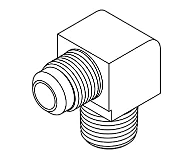 Flare Fitting Diagram