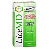 Lice MD Lice and Egg Removal Kit 4 fl oz (118 ml), pack Of 2 by LiceMD