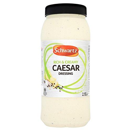 Schwartz aderezo César 2.15L (paquete de 4 x 2.15ltr)