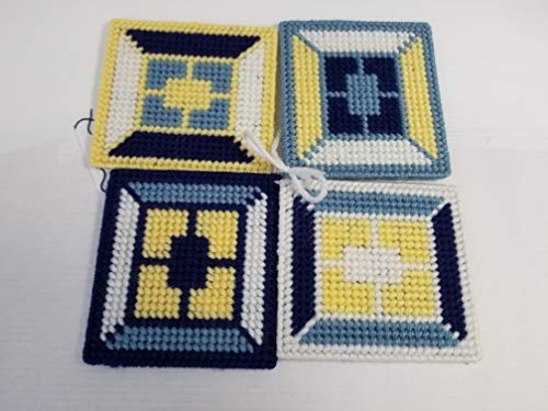 Nautical Needlepoint - Nautical Themed Needlepoint Coasters