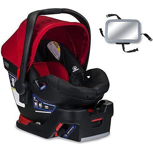 Britax – B-Safe 35 Infant Car Seat with Back Seat Mirror – Cardinal