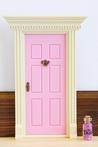 Price hidden lil fairy door door novelty watermelon pink for Secret fairy doors by blingderella